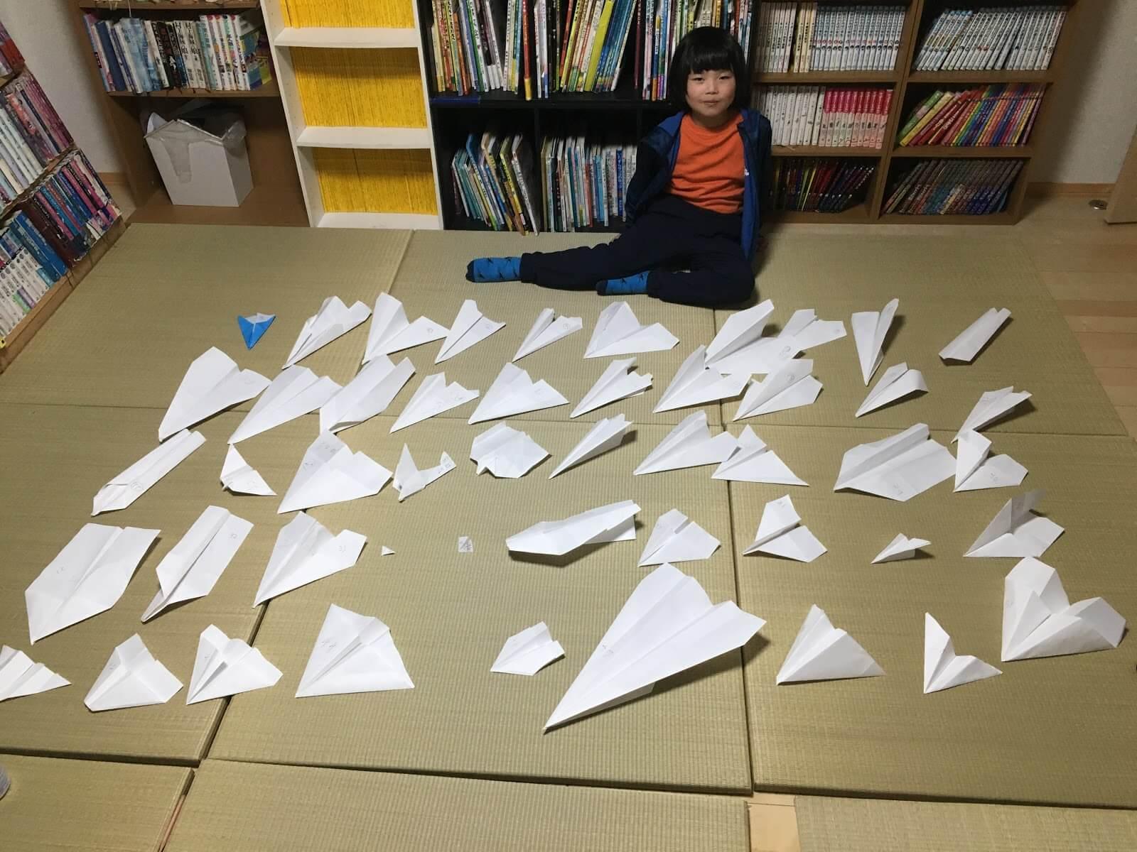 こらぼジャーナル(6)ことみの紙飛行機  〜あそびながらチャレンジし続けること〜